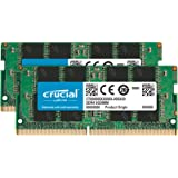 Crucial CT2K16G4SFD824A DDR4 SODIMM 260-Pin Memory, 32GB Kit (2)