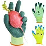 Kids Gardening Gloves for Ages 2-12 Toddlers, Youth, Girls, Boys, Children Garden Gloves for Yard Work (Size 2 for 2, 3, 4 Ye