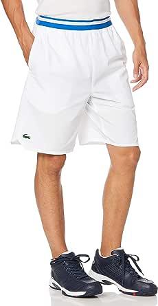 [ラコステ] テニスハーフパンツ [公式] 『ノバク・ジョコビッチ』ボーダーウエストショートパンツ メンズ