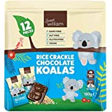 Sweet William Rice Crackle Chocolate Koalas, 12 x 180 g