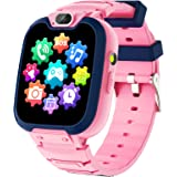 Kids Smart Watch for Boys Girls-Kids Phone Smartwatch with Calls 14 Games S0S Camera Video Music Player Clock Calculator Flas