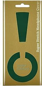ボロボロのイヤーパッドが復活|修理・保護・汗ムレの解消に|mimimamo スーパーストレッチヘッドホンカバー L (グリーン) ※各機種への対応はメーカーHPのヘッドホン対応表をご確認ください