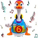 Walking, Talking, Singing and Dancing Musical Hip Hop Goose TG656 - Cool Dancing Toy for Boys and Girls Kids or Toddlers by T