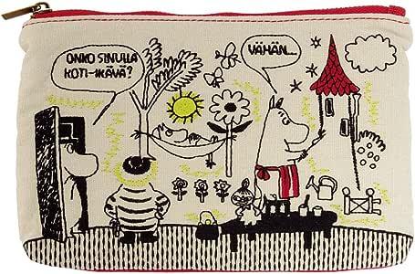 サンスター 畳み刺繍ペンポーチ フラット ムーミン ママお絵描き ムーミン S1407856
