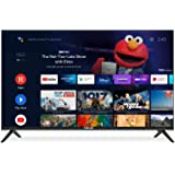 Caixun 50 Inch 4K TV Smart LED TV UHD, 2160P Ultra HD Resolution Television with HDR Voice Remote Control, Support with Dolby