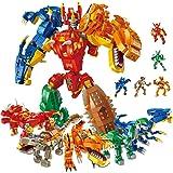 【Amazon限定ブランド】PANLOS 11in1ロボット恐竜おもちゃ工学学習ビルディングレンガキットビルディングブロックセット男の子と女の子 6 7 8 9歳タイトフィットで、すべての主要ブランドと互換性があります 1215 PCS