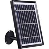 Tonton Security Outdoor Solar Panel for Rechargeable Battery Security Camera with Adjustable Mounting Bracket, Surveillance C