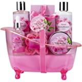 Bath Set Gift Basket for Women bath and body works Gifts Set perfume gift sets for women Spa gift basket 8pcs Bath and Body k