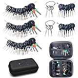 Maerd Terminal Removal Tool Kit, 76Pcs Terminal Ejector Kit for Car, Pin Extractor Tool Set Release Electrical Wire Connector