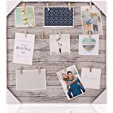 Ochoice HANTAJANSS Picture Frames with Clip of 12 Picture Show The Sweetest for Home Decoration