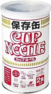 日清 カップヌードル保存缶 69g×2食入
