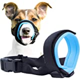 Gentle Muzzle Guard for Dogs - Prevents Biting and Unwanted Chewing Safely – New Secure Comfort Fit - Soft Neoprene Padding –