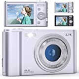 FamBrow デジタルカメラ デジカメ 2.7k 4400万画素 HD1520P録画 2.88インチIPS画面 16倍ズーム ウェブカメラとして利用 動き検知/スローモーション/手ぶれ補正/三連写など機能 最大128gbのSDカードにサポート 予備