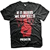 Officially Licensed Predator - If It Bleeds Big & Tall T-Shirt (Black)