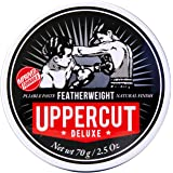 Uppercut Deluxe Featherweight Pomade 2.5oz - Medium Hold with Grip - Low Shine Finish
