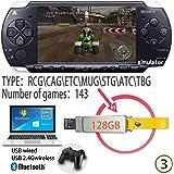 Tensna Retro Arcade Game built-in 143 HD Classic PSP Video Games 128G USB Memory Stick Plug & play