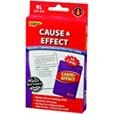 Edupress (EP-3067) Reading Comprehension Practice Cards, Cause & Effect, Red Level