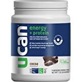 UCAN Energy + Protein Powder - Pre & Post Workout Supplement for Men & Women - Muscle Recovery - No Added Sugar, Gluten-Free,