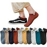靴下 メンズ ショート コットン くるぶし 靴下 通勤 おしゃれ カジュアル カラフル 24-28 センチ