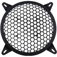 KESOTO ユニバーサルカープラスチックスピーカーサブウーファーアンプカバーグリルメッシュ - 6インチ