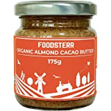 Foodsterr Organic Almond Cacao Butter, 175g
