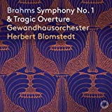 ブラームス : 交響曲第1番&悲劇的序曲 / ライプツィヒ・ゲヴァントハウス管弦楽団&ベルベルト・ブロムシュテット (Brahms : Symphony No. 1&Tragic Overture / Gewandhausorchester Leip