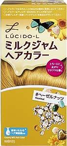 LUCIDO-L (ルシードエル) ミルクジャムヘアカラー #ヘーゼルナッツ (医薬部外品) (1剤40g 2剤80mL TR5g)