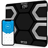 INEVIFIT EROS Bluetooth Body Fat Scale Smart BMI Highly Accurate Digital Bathroom Body Composition Analyzer with Wireless Sma