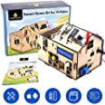 KEYESTUDIO Sensor Modules Kit Iot Smart Home Kit for Arduino IDE with UN0 R3 Board for Learning Internet of Things, Mechanica