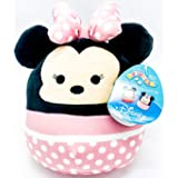 """Disney Squishmallow Kelly Toys Minnie Mouse The 8"""" Super Soft Stuffed Plush Toy Pillow"""