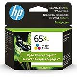 HP 65XL | Ink Cartridge | Works with HP Deskjet 2600 Series, 3700 Series, HP ENVY 5000 Series, HP AMP 100, 120, 125, 130 | Tr