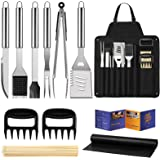 """Veken BBQ Grill Accessories, Grill Utensils Set, 16"""" Stainless Steel BBQ Tools Set for Men & Women Grilling Accessories with"""