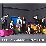 AAA 10th ANNIVERSARY BEST(ALBUM2枚組+DVD)