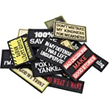 Eybros Tactical Morale Patch, 20 Bundle-Set, Military Patches Funny for Backpacks Hat Army Gears Etc.