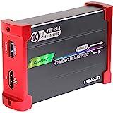 TreasLin Live Gamer HSV3218 [4Kパススルー対応 ゲームキャプチャーボックス] 3.5mmオーディオ入力/出力 60fps高速記録&遅延なしゲーム実況生配信