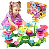 Umwon Toys for 3-7 Year Old Girls , Flower Garden Building Toys with 98 PCS Preschool Educational Toys Set for Preschool Todd