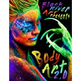 Body Art 2.0: A Grayscale Coloring Book for Adults with 45 Coloring Pages of Women Featuring Artistic Body Art Makeup