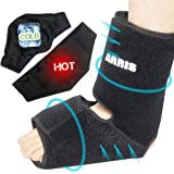 Ice Pack for Ankle Injuries/Foot & Ankle Ice Pack for Sprained Ankle, Achilles Tendon Injuries, Plantar Fasciitis, Bursitis &