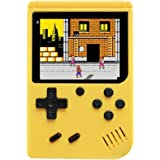 Handheld Game Console with 400 Classical FC Games Console 3.0-Inch Colour Screen,Gift Christmas Birthday Presents for Kids, A