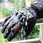 Aomoto Men's Motorcycle Winter Gloves Touchscreen Moto Waterproof Gloves Ladys Boys Motorcycle Woman Cycling Protective...