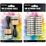 Mini Ink Blending Tools - Round (Mini Ink Blending Tool with 20 Added Replacement Foams)