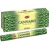 Cannabis - Box of Six 20 Gram Tubes - HEM Incense