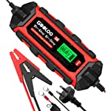 GOOLOO S6 Smart Battery Charger Automotive, 6 Amp 6V 12 Volt Water-Resistant Trickle Charger and Maintainer, Automatic Intell