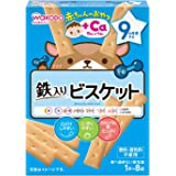 Wakodo Biscuits with Iron 8p, 34 g