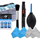 CamKix Professional Camera Cleaning Kit for DSLR Cameras- Canon, Nikon, Pentax, Sony - Cleaning Tools and Accessories (Camera