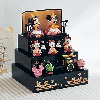 Disney ディズニー 壇付きおひなさま フルセット ミッキー&フレンズ 3段飾り