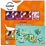 Galler(ガレー)チョコレート ベルギー王室御用達 ミニタブレットギフトボックス24個入(ポストカード付)