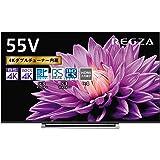 東芝 55V型 液晶テレビ レグザ 55M540X 4Kチューナー内蔵 外付けHDD W録画対応 (2020年モデル)