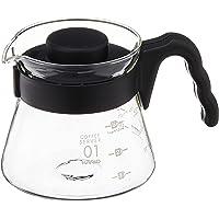 HARIO(ハリオ) V60コーヒーサーバー 電子レンジ/食洗機対応 450ml ブラック 日本製 VCS-01B