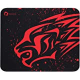 Small red Leopard Thick Gaming Mouse Pad-EXCOMultiple Pattern Selection,or Laptop Black Gaming Mouse Mat for Business Games O
